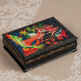 "Box ""Tales"", 16×22 cm, lacquer miniature"