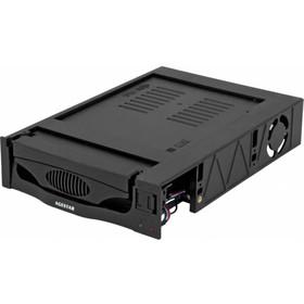 "Сменный бокс для HDD AgeStar MR3-SATA(S)-1F SATA II пластик черный 3.5"""