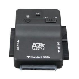 """Адаптер-переходник AgeStar для HDD 2.5""""/3.5"""" 3FBCP1 черный"""