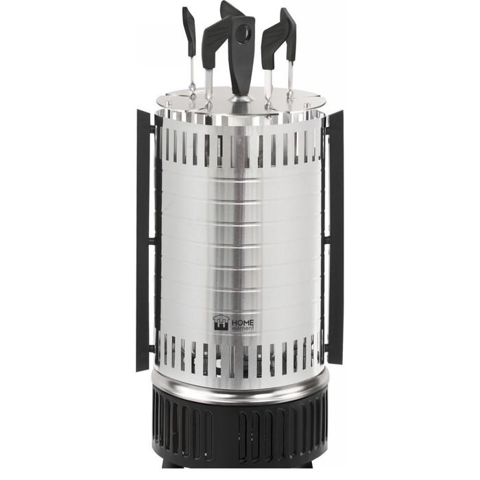 Шашлычница электрическая Home Element HE-EB740  черный жемчуг
