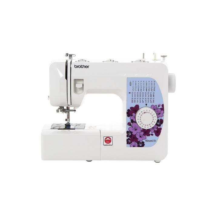 Швейная машина Brother Hanami-37S, 37 операций, обметочная, потайная, эластичная строчка