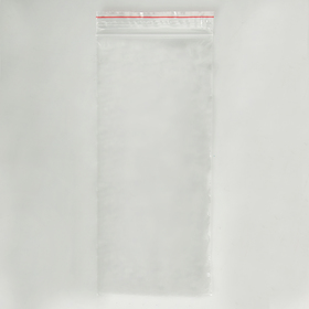 Пакет zip lock 8 х 18 см, 35 мкм