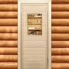 """Дверь для бани и сауны """"Банные штучки"""", 190х70см"""