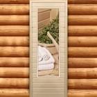 """Дверь для бани и сауны """"Банные принадлежности. Элит"""", 180х70см"""