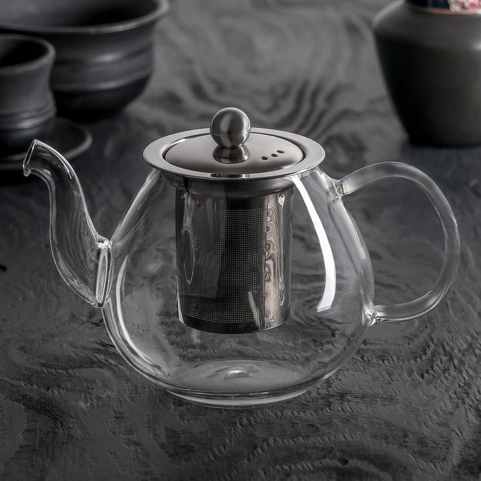"""Чайник заварочный 800 мл """"Талина"""", с ситом"""