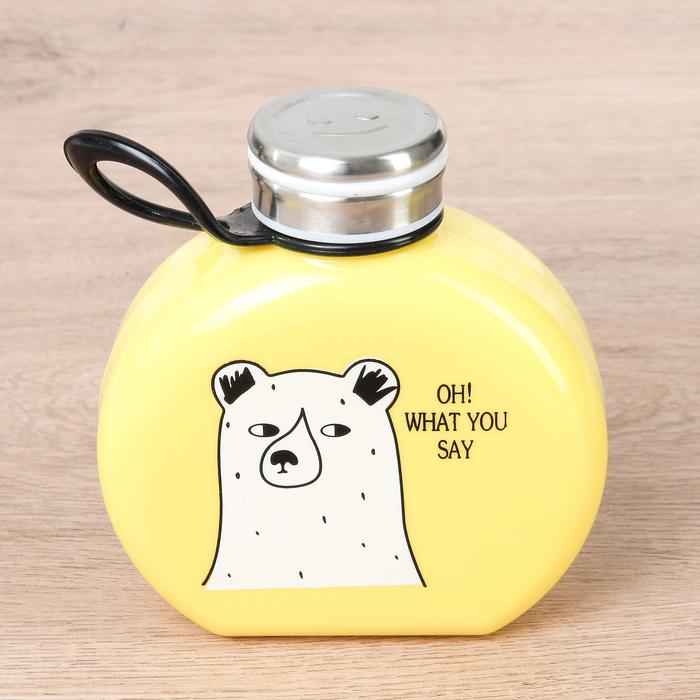 """Бутылка 300 мл """"Медведи"""", цвета МИКС - фото 105488062"""