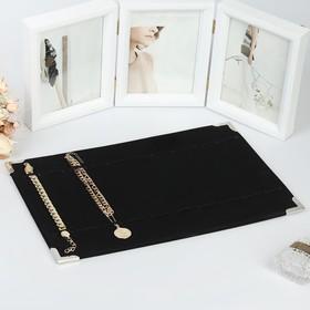 Подставка для украшений 39*27*1 см, цвет чёрный