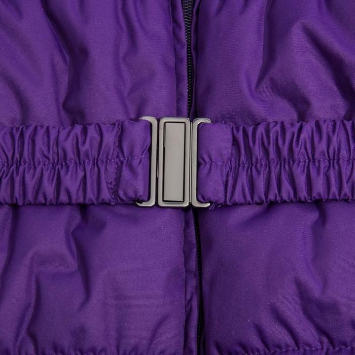 Куртка утепленная (пальто) YACARANDA 70053 лиловый, рост 152 см