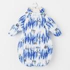 """Спальный мешок детский """"ZIPPY"""", рост 68 см, цвет синий с принтом 72335_М"""