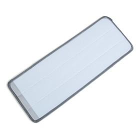 Насадка для плоской швабры 31×10 см, микрофибра цвет серый - фото 4647599