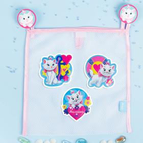 Сетка для хранения игрушек 'Милашка' Коты аристократы +набор объемных наклеек Ош