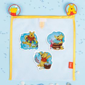 Сетка для хранения игрушек 'Давай играть!' Медвежонок Винни и его друзья +набор объемных наклеек 1 Ош