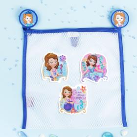 Сетка для хранения игрушек 'Самая милая' София Прекрасная +набор объемных наклеек Ош