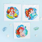 """Сетка для хранения игрушек """"Русалочка"""" Принцессы: Ариель +набор объемных наклеек - фото 105494264"""