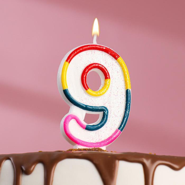 """Candle wax cake with sparkles """"Shiny headband"""" figure 9"""