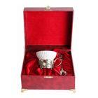 Чашка «Земляника» в шкатулке из бумвинила