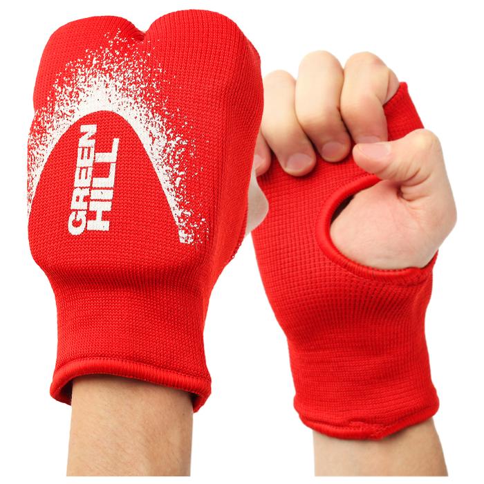 Накладки  Каратэ Эластик на руки HP-6133 цвет красный L