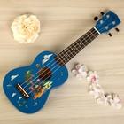 УКУЛЕЛЕ СОПРАНО WOODCRAFT UK-300, цвет голубой