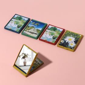 Зеркало складное «Цветочная поляна», МИКС Ош