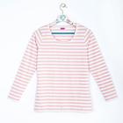 Джемпер женский 638 цвет белый/розовый, р-р 42