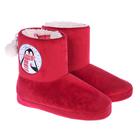 """Обувь домашняя женская (угги) """"С Новым годом!"""", размер 38/39"""