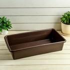 Ящик для рассады, 45 × 25 × 10 см, 8,5 л, цвет МИКС