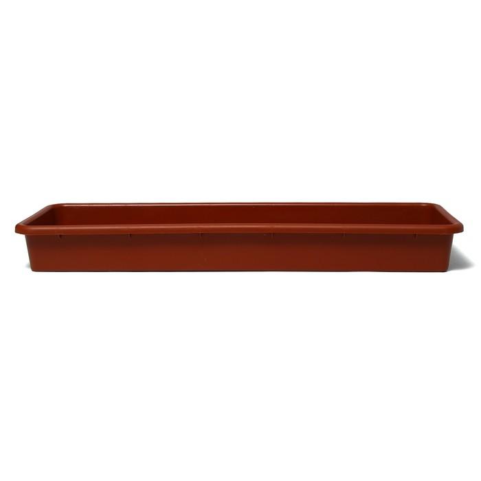 Ящик для рассады, 65 × 23,5 × 7,5 см, 9 л, цвет МИКС