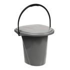 Ведро-туалет, 18 л, цвет МИКС