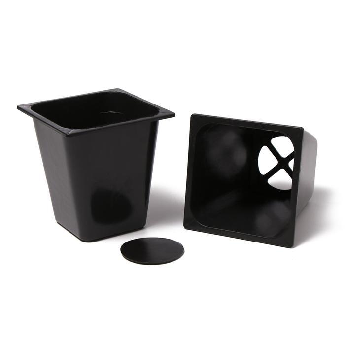 Набор для рассады: стаканы по 1 л (10 шт.), поддон 51 × 21 см