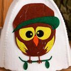 """Банная шапка с детской аппликацией """"Орландо"""", войлок - фото 1396327"""