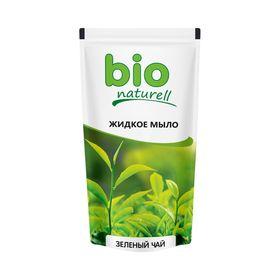 Жидкое мыло Bio Naturell «Зелёный чай», дой-пак, 500 мл