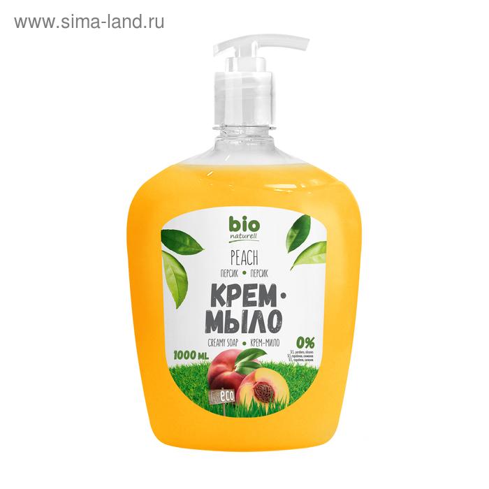 Жидкое крем-мыло Bio naturell, Персик, 1000 мл