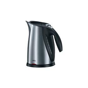 Чайник электрический Braun WK 600, металл, 1.7 л, 2200 Вт, черный