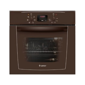 Духовой шкаф Gefest ЭДВ ДА 602-02 К, электрический, 55 л, коричневый