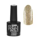 Гель-лак для ногтей, 216-189-38, однофазный, LED/UV, 10мл, цвет 216-189-38 золотой с блёстками