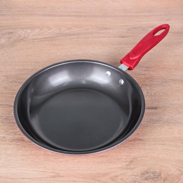 """Сковорода 24,5 см """"Каролайн"""", антипригарное покрытие"""