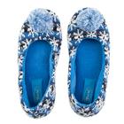 Тапочки женские Forio арт. 135-5511 Б, цвет синий, размер 39
