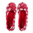 Тапочки женские Forio арт. 135-5511 Б, цвет красный, размер 39
