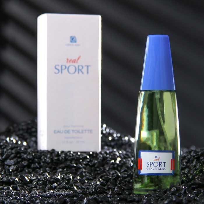 Туалетная вода для мужчин Grace Alba Real Sport, 50 мл