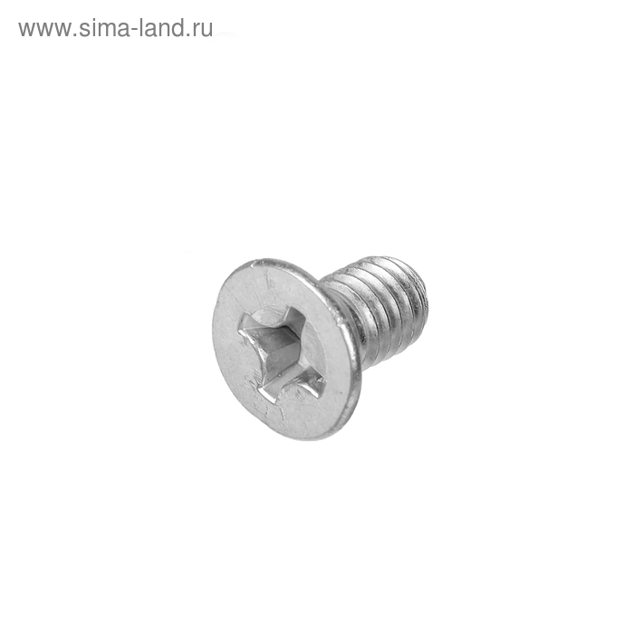 Винт для угловой стяжки, ГОСТ 17475, 6х10 мм, оцинкованный