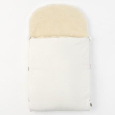Вкладыш меховой, 65х38, цв молочный, ш20пэ, трикотаж хл100 1714