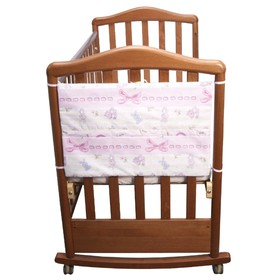 Карман 'Акварель'размер 58х40 цв розовый, бязь хл100, синтепон 100гм 206/2 Ош