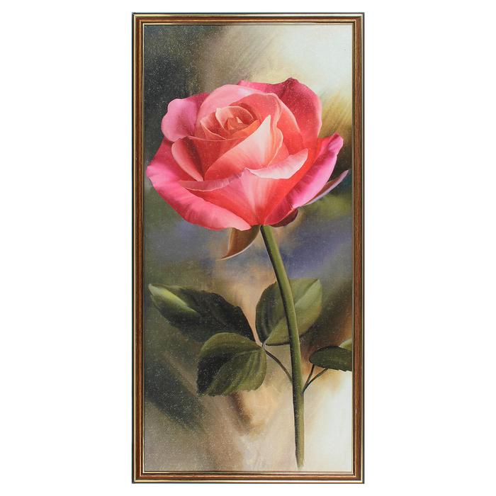 """Картина """"Роза"""" 37х74 см"""