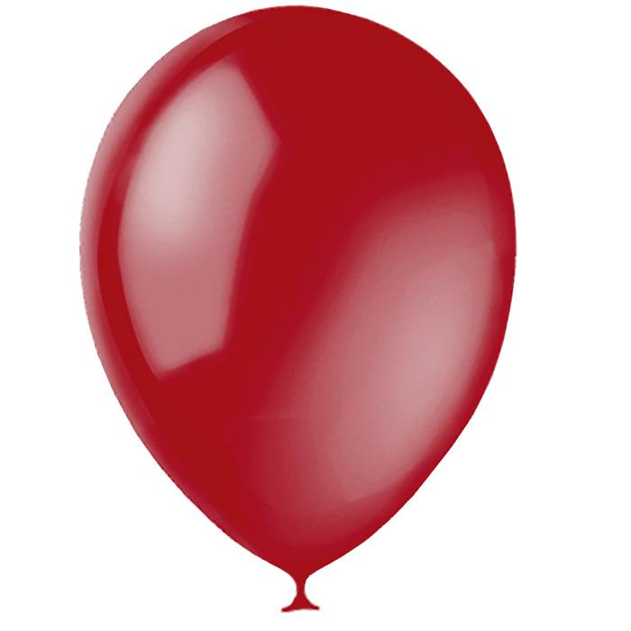 """Шар латексный 12"""", декоратор, набор 100 шт., цвет рубиновый - фото 308467771"""