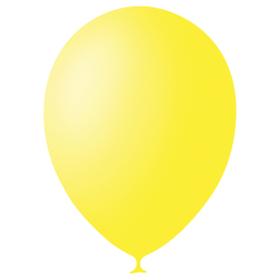 """Шар латексный 12"""", декоратор, набор 100 шт., цвет жёлтый"""