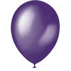 """Шар латексный 12"""", металлик, набор 100 шт., цвет тёмно-фиолетовый - фото 261351573"""