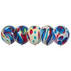 """Шары латексные 9"""", многоцветные, набор 10 шт. - фото 308467879"""