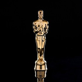 "Статуэтка ""Оскар"", золотистая, 27 см"