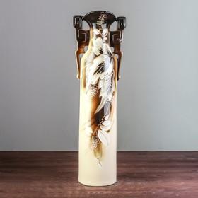 """Ваза напольная """"Сакура"""", коричневая, 52,5 см - фото 1703517"""