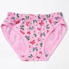 Трусы для девочки, рост 128-134 см, цвет розовый